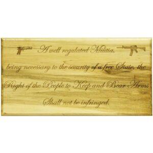 Second Amendment Store Rectangle Sign